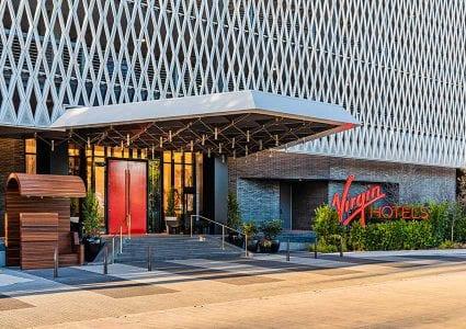 Exterior of RSM Design project Virgin Hotels