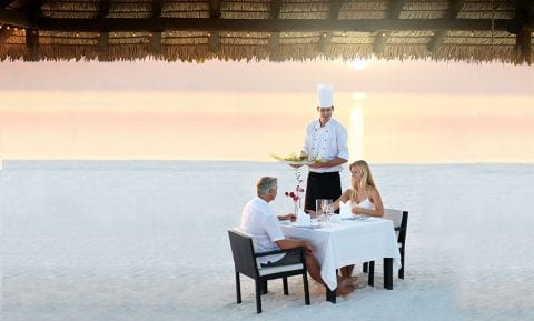 Private beachside dinner experience at The Residences at The St. Regis Longboat Key