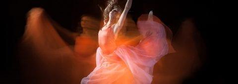 Ballet dancer in Sarasota Ballet Company