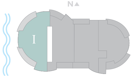 Cristal 1 footprint of The Residences The St. Regis Longboat Key