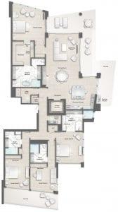 Perignon 8 Floor Plan at The Residences The St. Regis Longboat Key