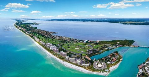 Longboat Key Florida, location of The Residences at The St. Regis