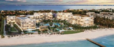 The Residences at The St. Regis Longboat Key Resort Aerial View