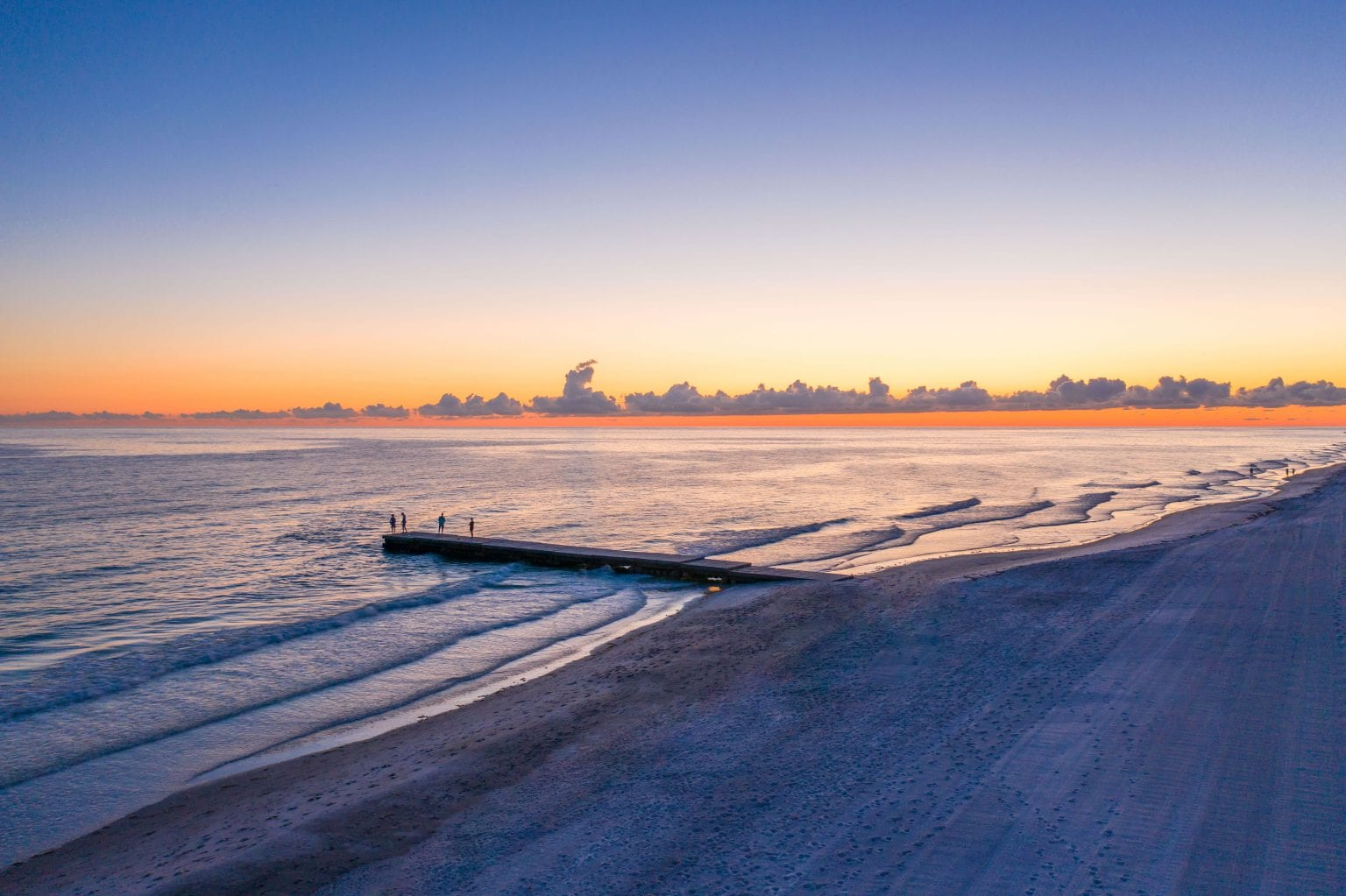 Gulf of Mexico at Sunset