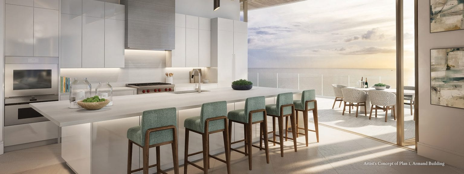 Armand Plan 1 Dining Room Rendering at The St Regis Longboat Key Resort