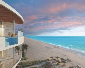 St Regis Rendering exterior terrace the gulf of mexico