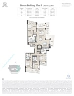 St Regis Residence Bateau 8 Floorplan