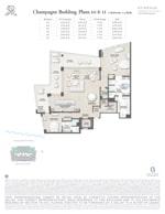St Regis Residence Champagne 10-11 Floorplan