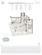 St Regis Residence Champagne 12-13 Floorplan