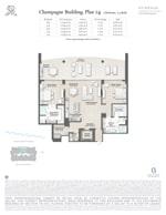 St Regis Residence Champagne 14 Floorplan