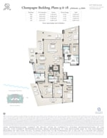 St Regis Residence Champagne 9-18 Floorplan
