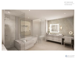 St Regis Rendering Bathroom
